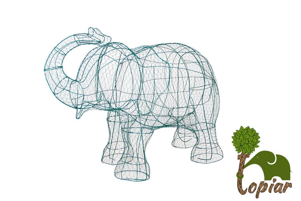 Elephant Topiary Frame - The Best Elephant Of 2018